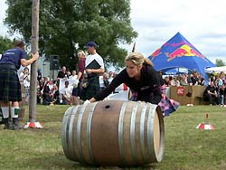 Pulling the barrel